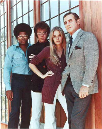 The Mod Squad aired on ABC from the late 60's through 1973 and featured Pete, Linc and Julie under the watchful eye of Captain Greer, the three were offered undercover work in law enforcement in lieu of be incarcerated themselves