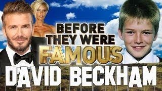 DAVID BECKHAM - Before They Were Famous - Biography