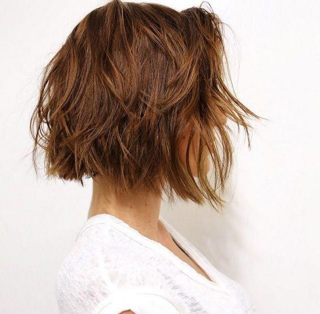 awesome Модная стрижка градуированное каре (50 фото) - Варианты на средние и короткие волосы