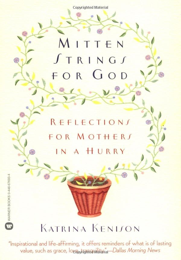 I loved this book.  It helps me to see how to appreciate more the simple yet beautiful things in life in relation to my children that we often miss b/c we are too busy.  Savor the moments.