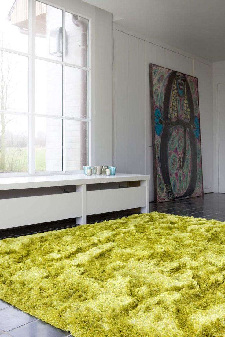 Spicy hoogpolig tapijt