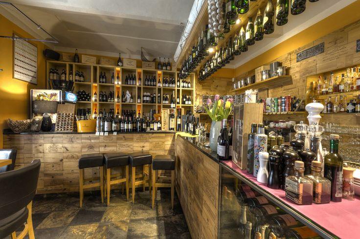 Restaurace Bresto, interiér