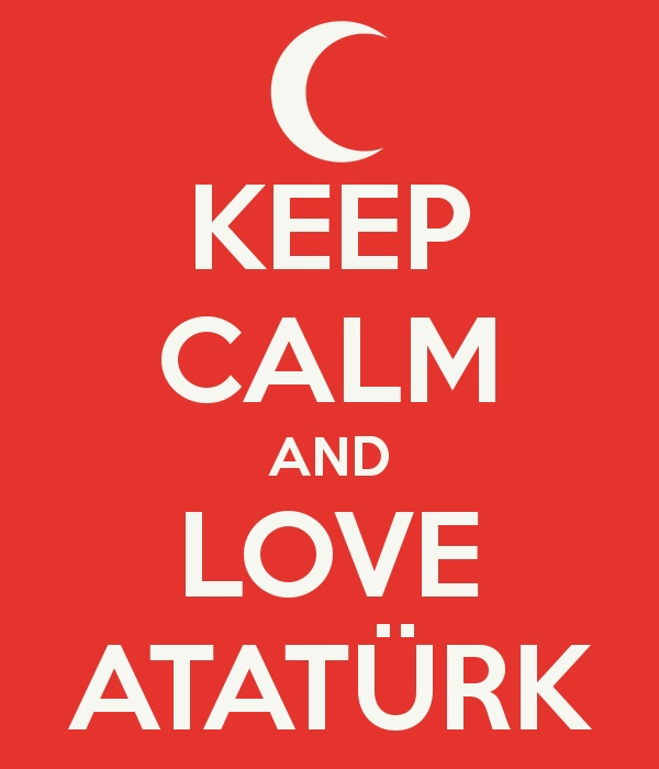 Peace at home... Peace in the world! ~ Ataturk