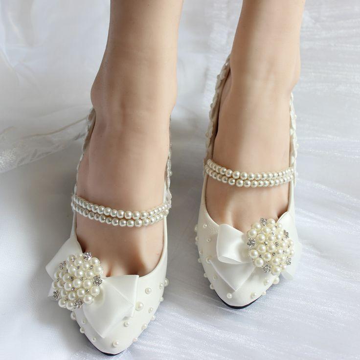 Online Get Cheap White Wedding Ballet Flats -Aliexpress.com ...