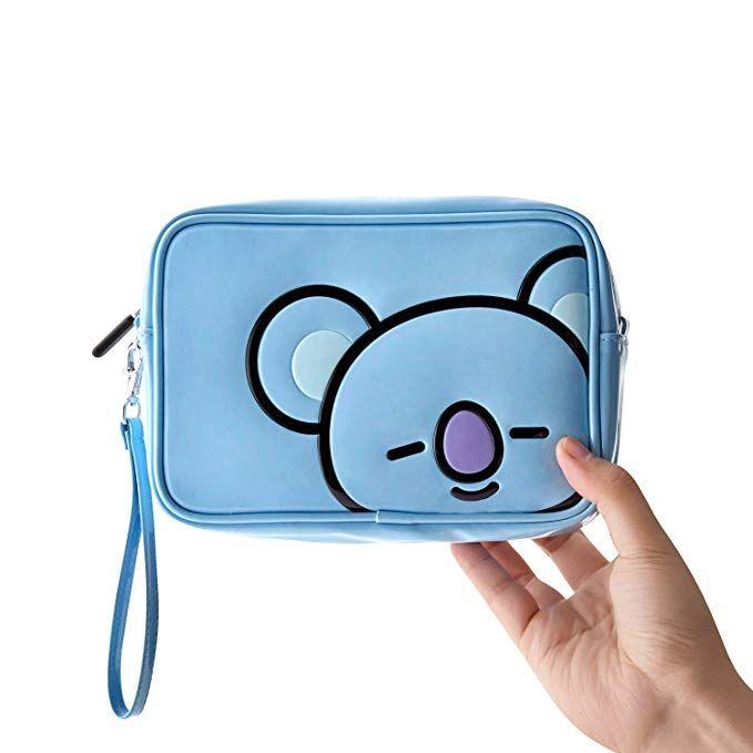 041b3cf1e784 BT21 Official Merchandise by Line Friends - KOYA Enamel Cosmetic Bag ...