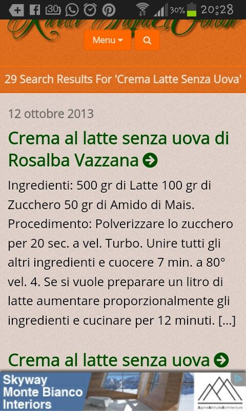 http://ricettelightegolose.altervista.org/?s=crema+latte+senza+uova&submit=cerca crema al latte senza uova