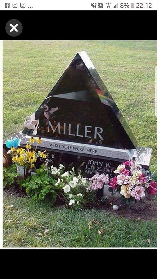 ebae5ec01c6c Ultimate Pink Floyd headstone.