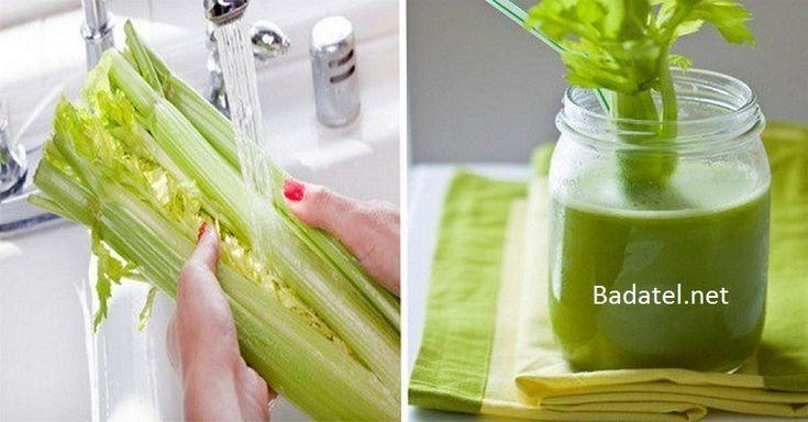Zelerové smoothie pre rýchly detox obličiek, ochranu srdca a uzdravenie kĺbov