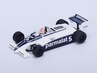 Brabham BT49C No.5 (Nelson Piquet - Winner Argentine GP 1981) in Blue and White (1:43 scale by Spark S4347)