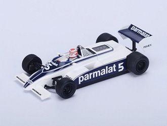 Brabham BT49C No.5 (Nelson Piquet - Winner Argentine GP 1981) in Blue and White (1:43 scale by Spark S4347)