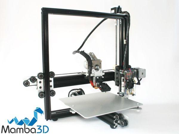 3ders.org - Mamba3D open source 3D printer launches on Kickstarter | 3D Printer News & 3D Printing News