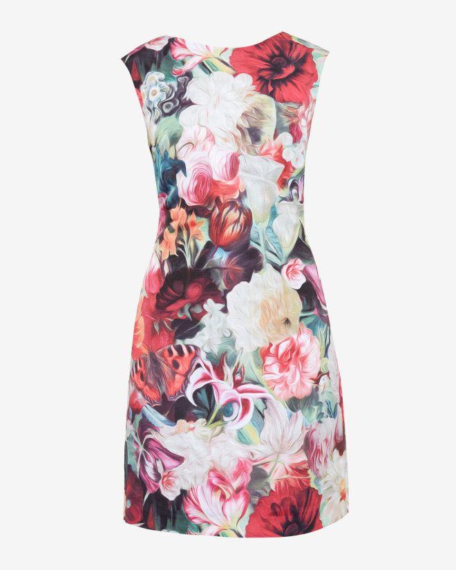 Ted Baker at HoF £139 Floral Swirl tunic dress - Fuchsia | Dresses | Ted Baker UK