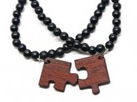 nice...: Bracelet Set, Piece Bracelets, Goodwood Puzzle, Fashion, Puzzle Piece, Puzzle Bracelet, Wooden Jewelry, Blood Wood, Friend