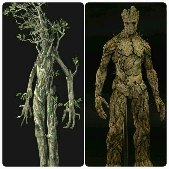 Has anyone else realized that Entsin TheLord of the Rings are Groot from Guardian of the Galaxy ancestors?