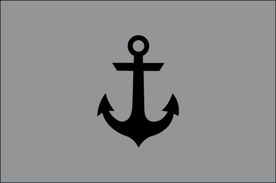 Anchor Boat Sea Ocean Lake Water Naval Nautical Symbol