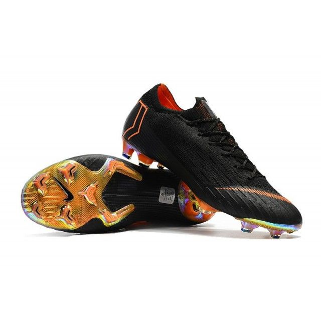 95297fbaf5be Authentic Kids Nike Mercurial Vapor XII 360 Elite FG - Total Orange White  Black