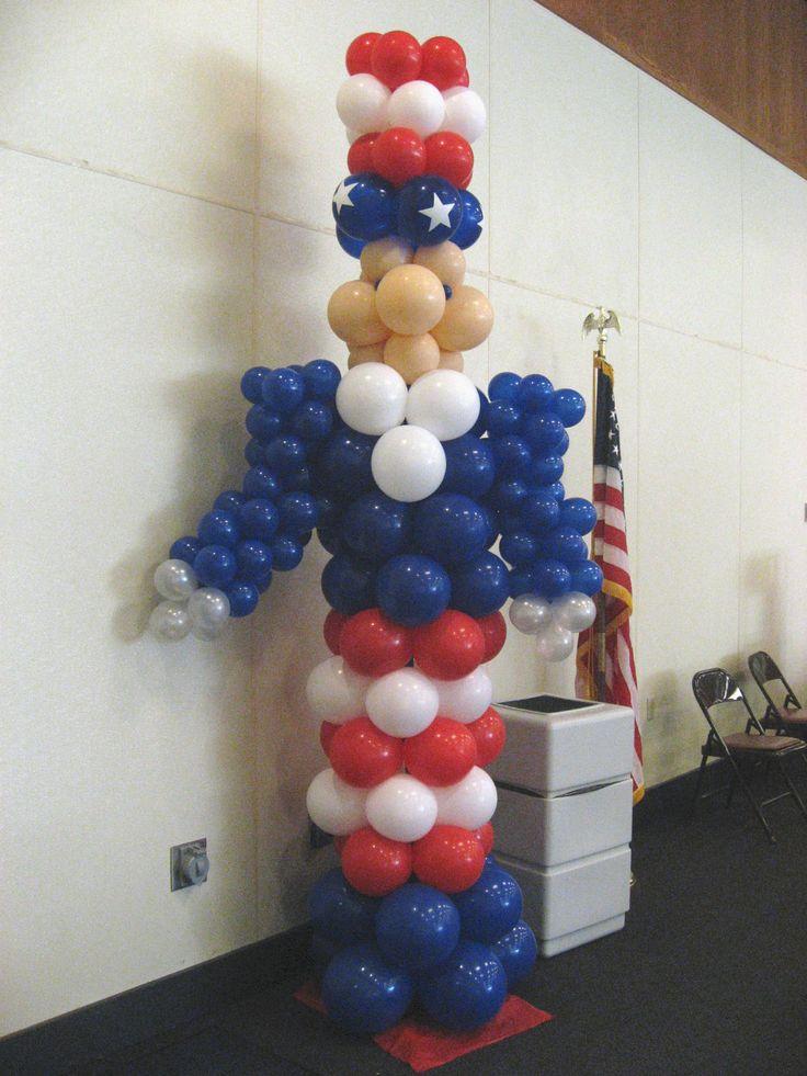 17 best ideas about balloon arrangements on pinterest for Balloon arrangement ideas