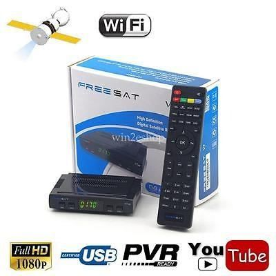 Freesat V7 Hd Digital Satélite Receptor Dvb-s2 Tv Box Wifi - $ 129.990 en Mercado Libre