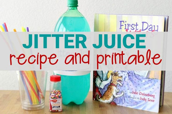 Jitter Juice Recipe