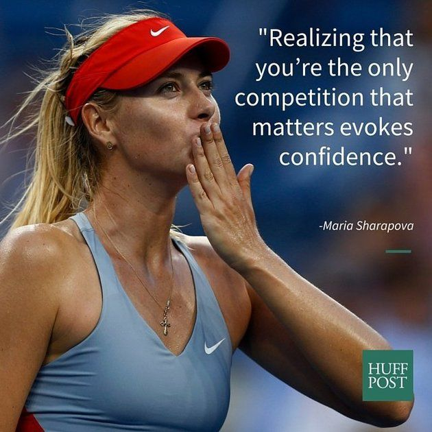 Maria Sharapova inspires us to be stronger women