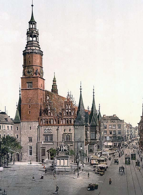 Town hall, Breslau, Silesia, Germany i.e., Wroclaw, Poland.... home of my mothers mother