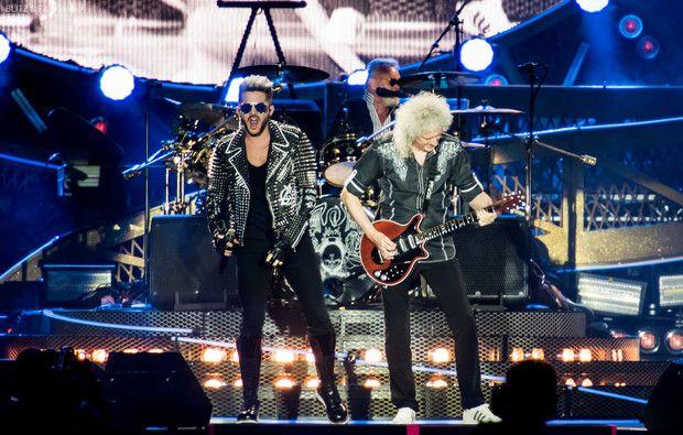 """Queen + Adam Lambert no Rock In Rio: as fotos de um concerto de """"campeões"""""""