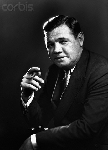 Babe Ruth looking like a straight up BOSS! #Babe #Ruth #First_To_60