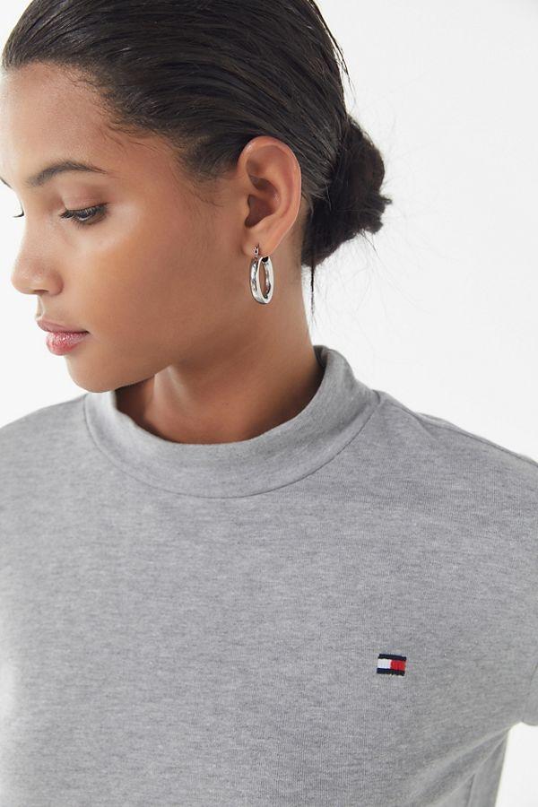 Tommy Hilfiger UO Exclusive Mock Neck Pullover Sweatshirt in