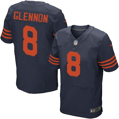a98bb189ee6 Orlando Ramirez-USA TODAY Sports Mens Nike Chicago Bears 8 Mike Glennon  Elite Navy Blue 1940s Throwback Alternate NFL Jersey ...