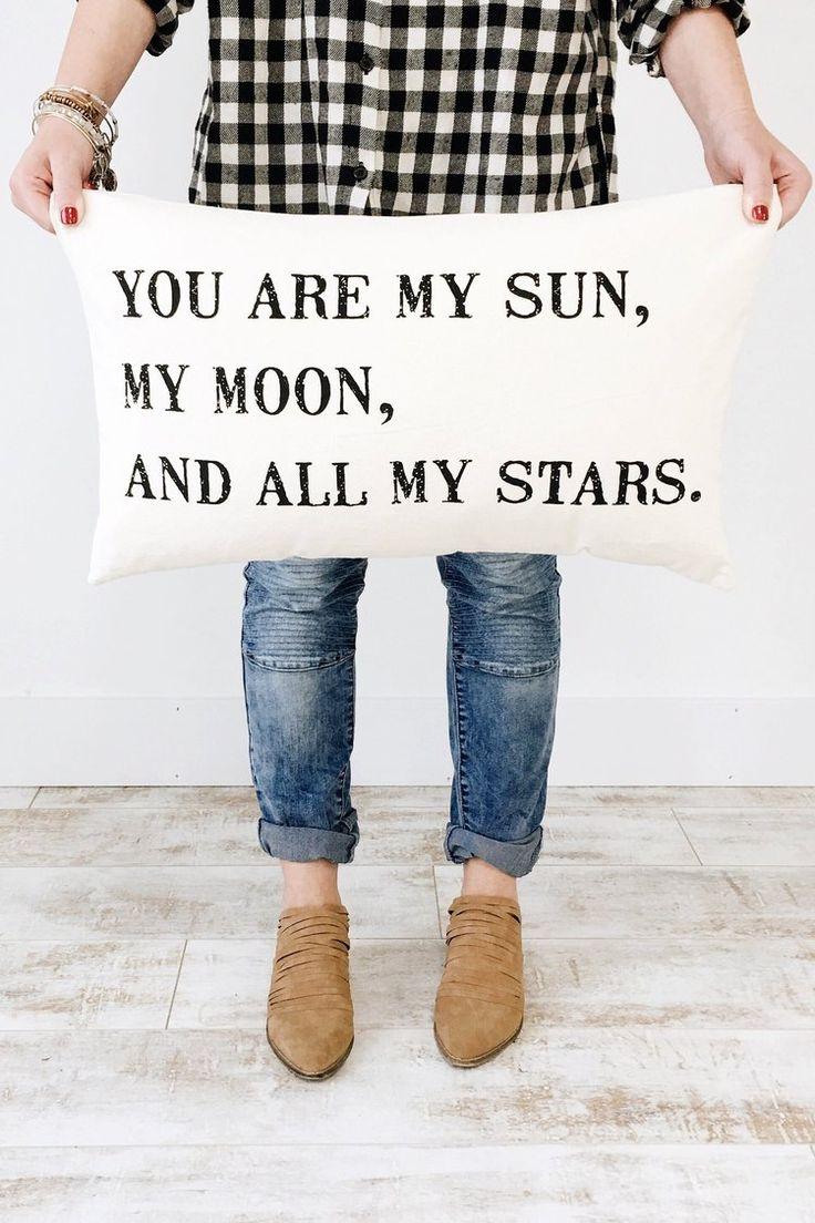 Sun and Moon Pillow