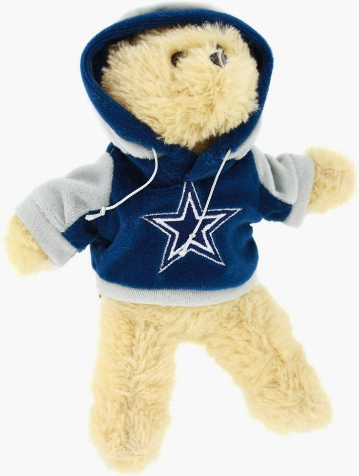 NFL Dallas Cowboys 2010 8-Inch Fuzzy Hoody Bear Polyester Imported 100% Team Licensed Hand Crafted For only the biggest fans Great for Home, Work and Office Available in all major leagues http://livinggood-entrepeneural.blogspot.com/2014/11/gift-ideas-for-dallas-cowboys.html