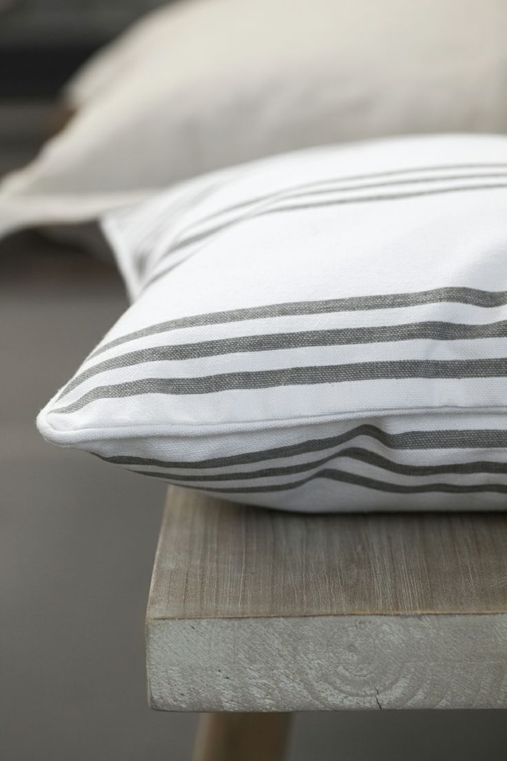 LAURIE cushion and GRETHEL bench. Lene Bjerre, spring 2014.