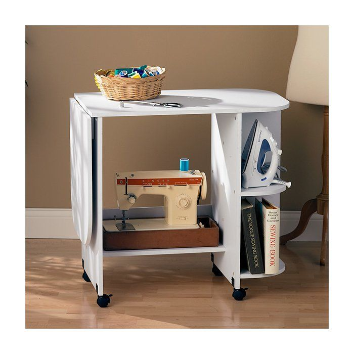 Bangalore Sewing Table In White Sewing Furniture Sewing Table Sewing Rooms
