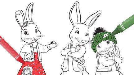 Lily, Peter and Benjamin