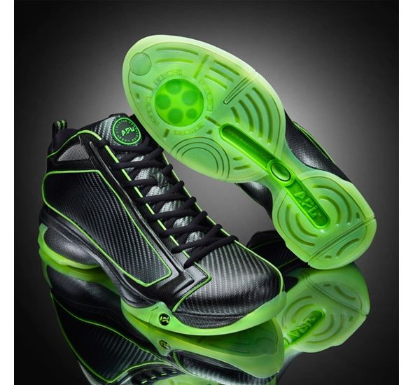 Banned by NBA ,due to 3in. jump increase when wearing em