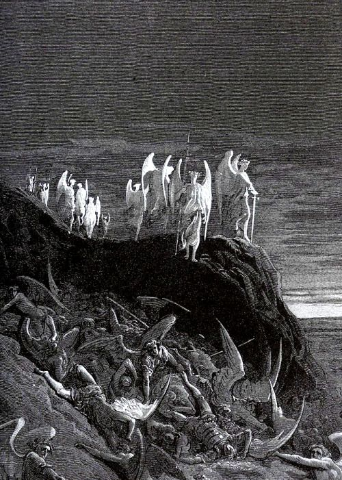 The Shepherd's Dream, from 'Paradise Lost'