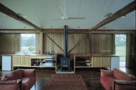 Glen Murcutt Guest Studio interior