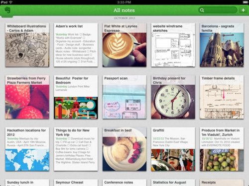 Evernote 5 Notes