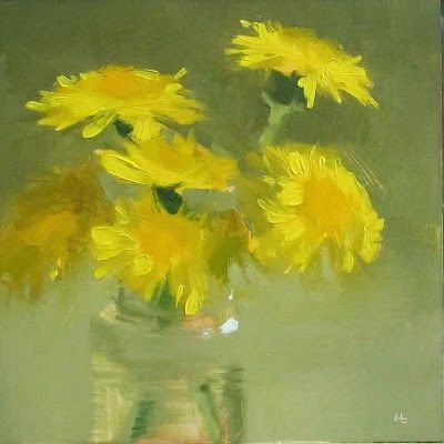DPW Fine Art Friendly Auctions - LAWN DAISIES by Helen Cooper