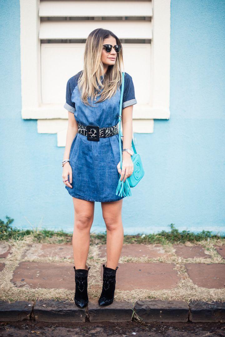 Meu look - Shades of blue