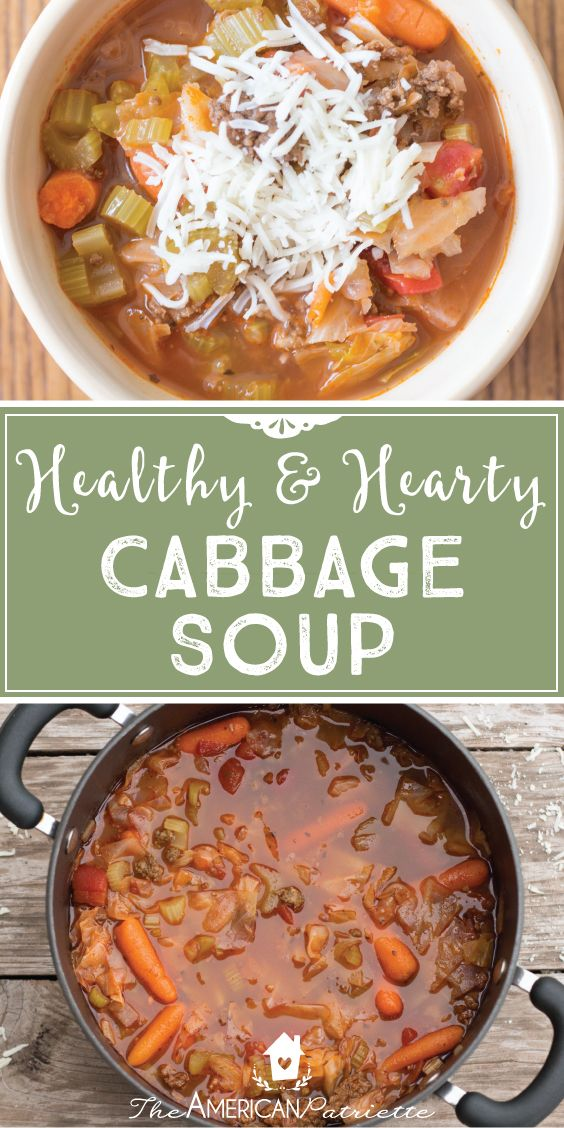 Flavorful and ABSOLUTELY delicious soup! And it's healthy and easy to make, too! Can't ask for more. This recipe gives boring 'ole cabbage soup a whole new meaning. Perfect for cozying up inside around a table during the fall and winter seasons!
