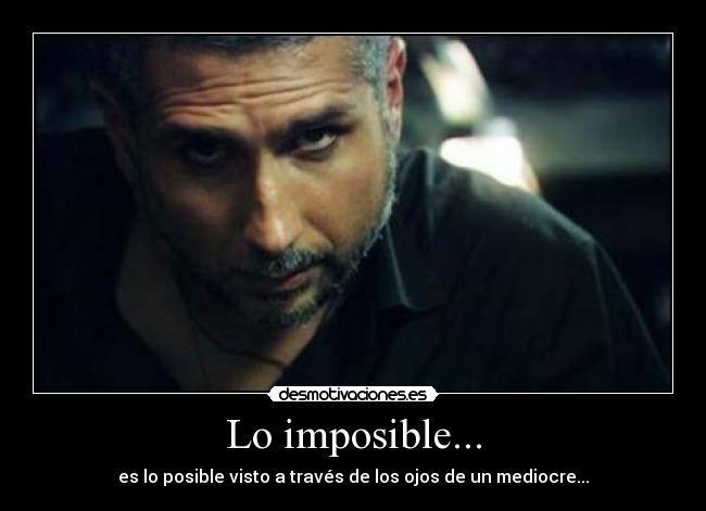 Carteles Imposible Pedro Pablo Leon Jaramillo