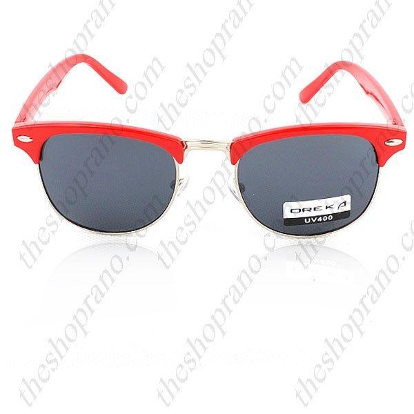 Γυαλιά ηλίου retro style malcolm x UV 400 με γκρι φακό