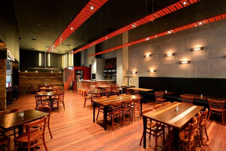 The Groove Train Southland Flagship Restaurant by Blackbox Retail Projects, Melbourne – Australia