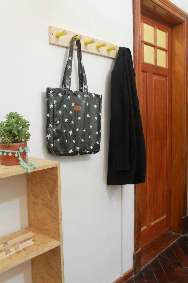 Perchero de pared | DIY / Experimento Casa