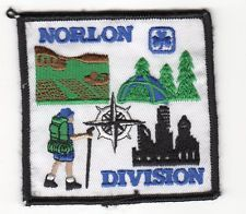 GGC NORLON  DIVISION Ont Patch Badge Discontinued Guides Girl Canada Scouts