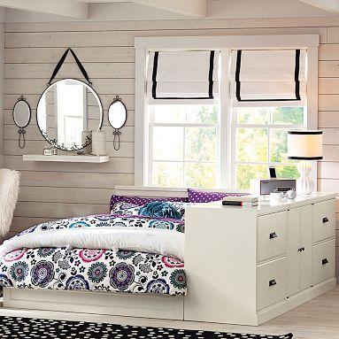 Paramount Bed + Dresser Set #potterybarnteen