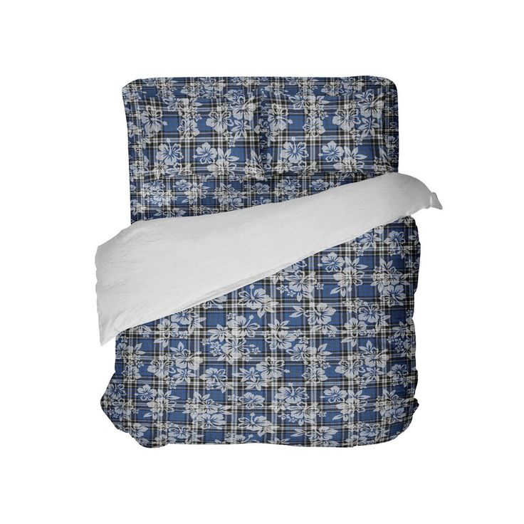 Preppy Surfer Plaid Comforter from Kids Bedding Company