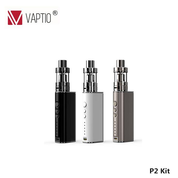 Sale Vaptio e cigarette kit variable wattage box mod 75w P-II temp control mod 1850mah electric battery vapor cigarette #Vaptio #cigarette #variable #wattage #P-II #temp #control #1850mah #electric #battery #vapor
