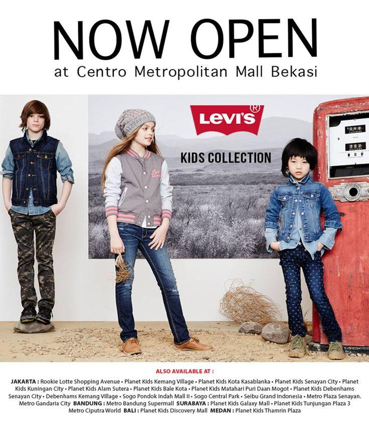 LEVI'S Now Open at Centro Bekasi!